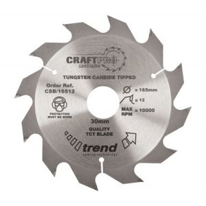 190mm Z=12 ATB Id=30 Trend Table / Rip Saw Blade CSB/19012
