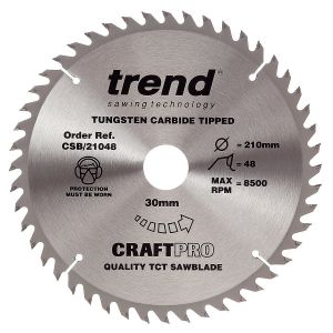 250mm Z=60 ATB Id=30 Trend Table / Rip Saw Blade CSB/21060