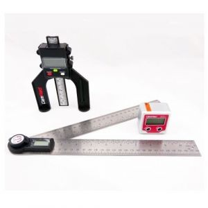 GEMRED 280mm Digital Rule + Bevel Box + Digital Depth Gauge TRIPLE PACK
