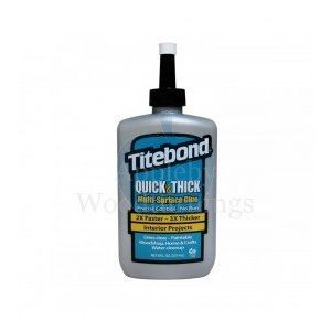 Titebond Quick & Thick Multi-Surface Wood Moulding Glue  8 Fl oz (237ml)