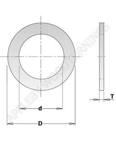 30mm - 25.4mm Saw Blade Reducing Bush 299.212.00