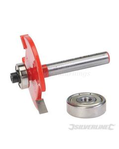 "Silverline TCT Biscuit Router Cutter 1/4"" No. 10 & 20 868596"