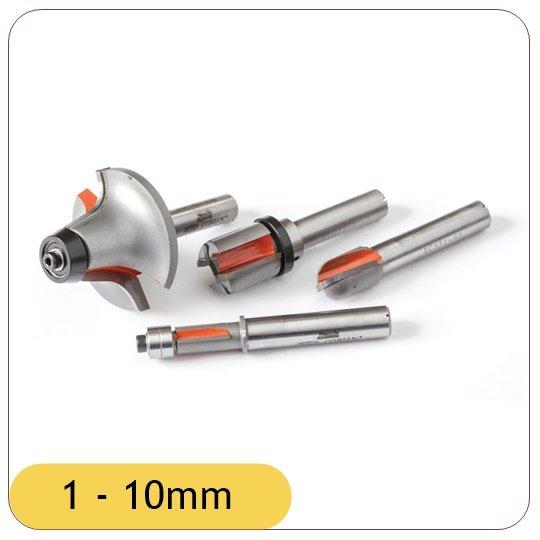 1 - 10mm