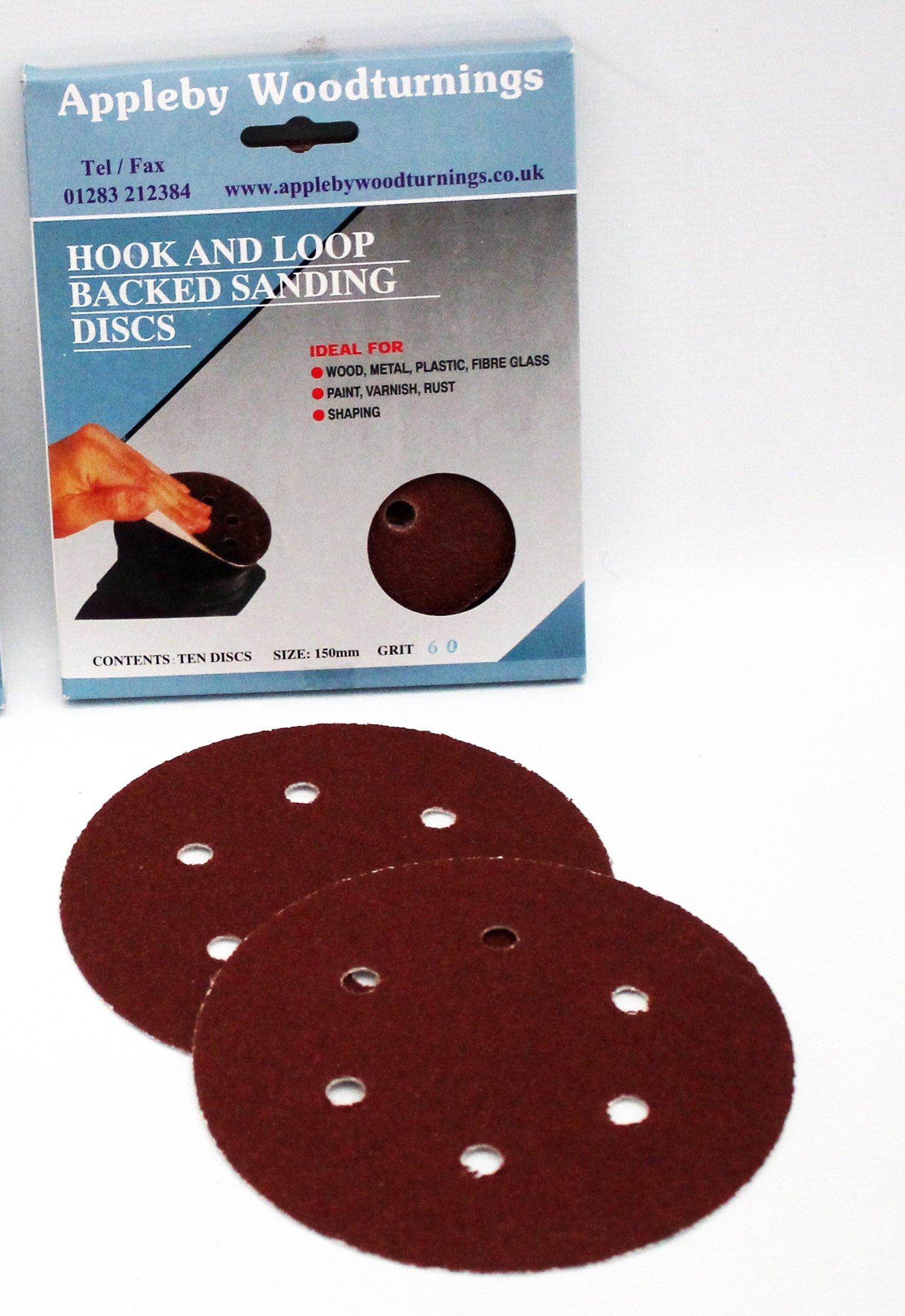 150mm Hook & Loop Discs