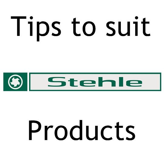 - To Suit Stehle Cutters