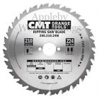 240mm Z=24 Id=30 CMT Hand Held / Portable Saw Blade To Fit Festool AXP85