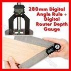 GEMRED 280mm Digital Rule + Digital Depth Gauge DOUBLE PACK