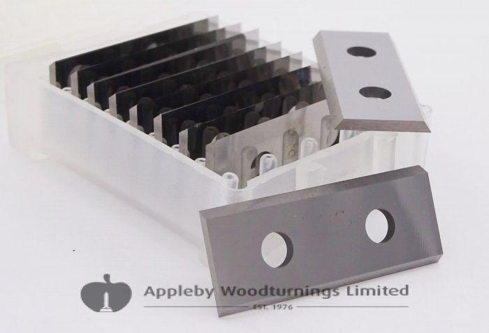 """20 Boxes (200pcs) 50mm 2"""" Carbide Scraper Blades for Linbide Scrapers"""