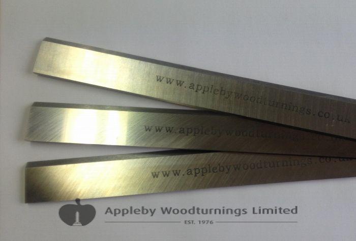 JET JPT260 260 x 25 x 3mm HSS Resharpenable Planer Blades 3pcs