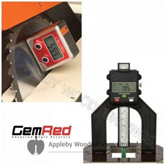 Bevel Box & Digital Depth Gauge GEMRED BUNDLE