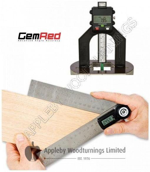 200mm Digital Angle Finder Rule & Digital Depth Gauge GEMRED BUNDLE