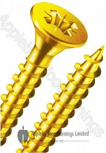 4.5 x 80mm Reisser R2 Woodscrews 1,500pcs