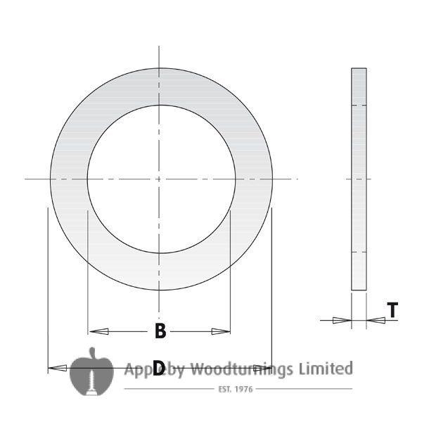 Saw Blade Bore Reducing Bush 30mm - 20mm CMT 299.227.00