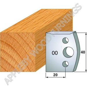 Profile No. 00 (191)  40mm Euro Knives, Limitors and Sets