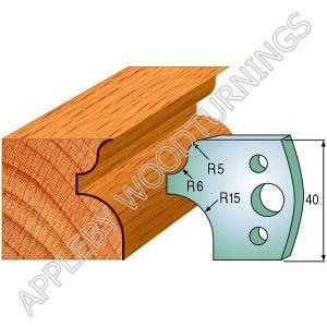 Profile No. 11  40mm Euro Knives, Limitors and Sets