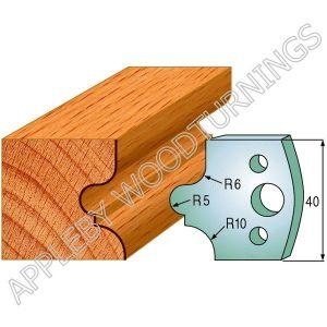 Profile No. 12  40mm Euro Knives, Limitors and Sets