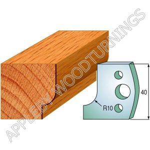 Profile No. 13  40mm Euro Knives, Limitors and Sets