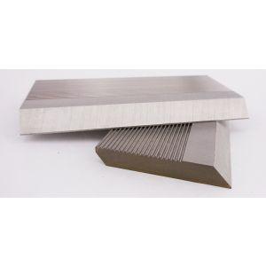 1 Pair HSS Serrated Profile Blanks 80 x 70 x 8 mm