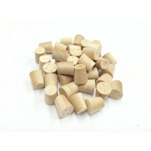8mm Maple Tapered Wooden Plugs 100pcs