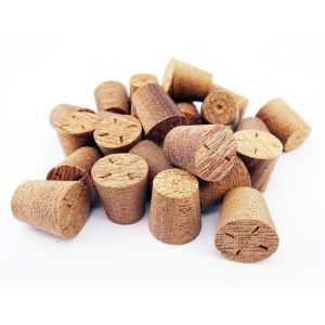 9mm Sapele Tapered Wooden Plugs 100pcs