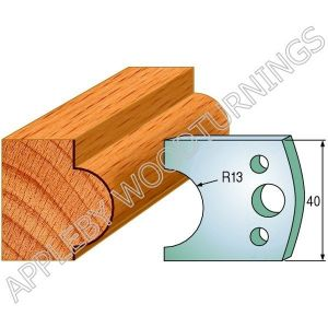Profile No. 119  40mm Euro Knives, Limitors and Sets