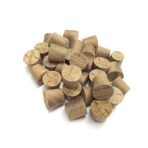 1/2 Inch American Black Walnut Tapered Wooden Plugs 100pcs