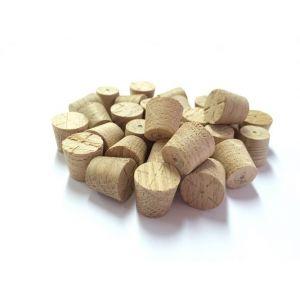 """1/2"""" English Oak Tapered Wooden Plugs 100pcs"""