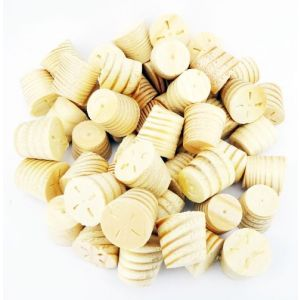 1/2 Inch Softwood / Pine Tapered Wooden Plugs 100pcs