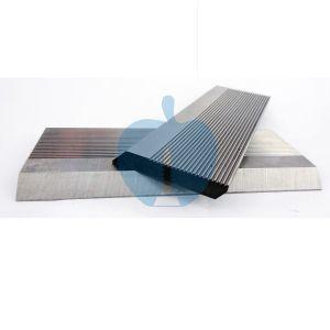 1 Pair HSS Serrated Profile Blanks 130 x 40 x 8 mm
