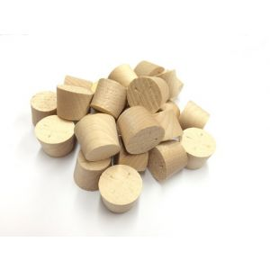 17mm MAPLE Tapered Wooden Plugs 100pcs