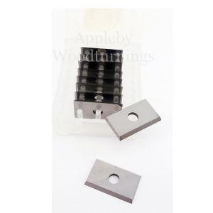 19.5 x 12 x 1.5mm Solid Carbide Reversible Knife Turn Blade Knives 1 Box (10pcs)