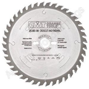 260mm Z=60 Neg CMT Cross Cut Saw Blade  294.060.11M