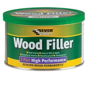 High Performance Interior/Exterior Fast Drying 2 Part Filler - Pine 500g Everbuild
