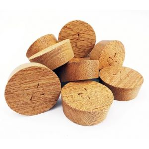 16mm Utile Tapered Wooden Plugs 100pcs