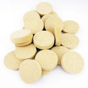 35mm Brown MDF Tapered Wooden Plugs 100pcs