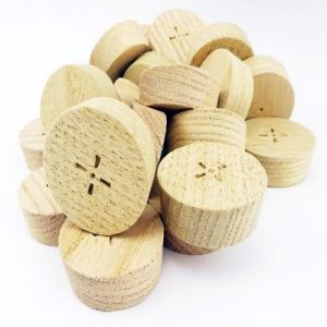 35mm Steamed Beech Tapered Wooden Plugs suitable for Kitchen Doors 100pcs