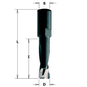 6mm Router Drill Bit for Domino Joining Machine DF500 by Festool