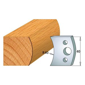 40mm Euro Profile No.08 Knives and Limiters CMT 690.008 & 691.008