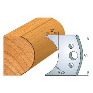 Profile No.546 50mm Euro Knives, Limiters and Sets