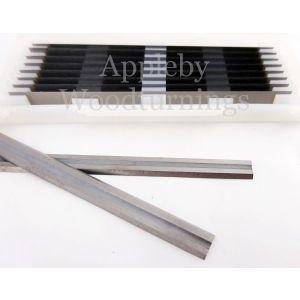 75.5mm Reversible Carbide Planer Blades to suit Black & Decker SR600
