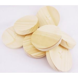65mm Spruce Tapered Wooden Plugs 100pcs