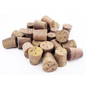 10mm A/Black Walnut Tapered Wooden Plugs 100pcs