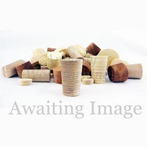 12mm Eu Whitewood Tapered Wooden Plugs 100pcs