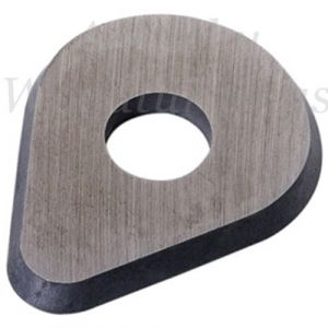 25mm Pear Shape Scraper Blade To Suit Bahco Ergo 625 Hand Held Scraper 10 Pieces