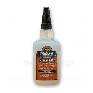 Titebond Premium Instant CA Glue Medium 56.8g 2oz