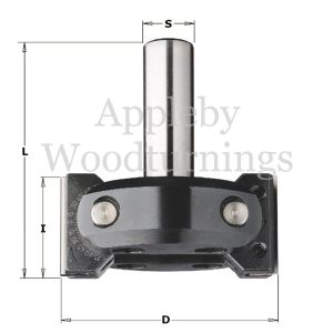 40mm Tip Height CNC Vari Angle Router Cutter 663.201.11