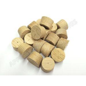 19mm European Oak Tapered Wood Pellets 100pcs