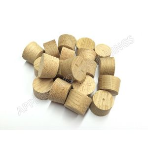 17mm European Oak Tapered Wooden Plugs 100pcs