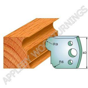 Profile No. 55  40mm Euro Knives, Limitors and Sets