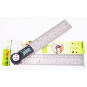 Gemred Digital 360 Angle Rule Setting Out Protractor 200mm